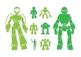 Roboter-Grafiken