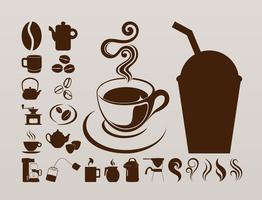 Coffee Icons Graphics