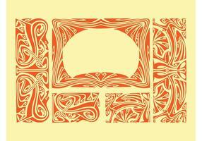 Art Nouveau Borders
