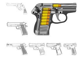 Handguns Graphics Set