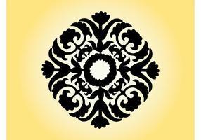 Vintage Flower Icon