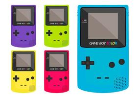 Game Boy Color vector