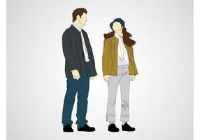 Talking Man And Woman