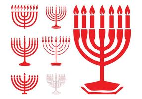 Chanukka Menorahs