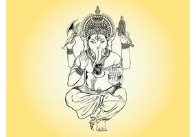 Illustration ganesha