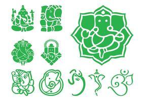Iconos de Ganesha
