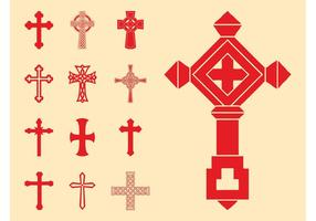 Christian Crosses Set