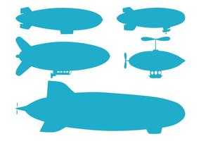 Blimp Silhouetten Pack