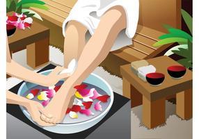Pedicure Illustration