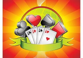 Kartenspiele Hintergrund