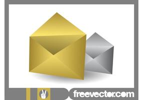 Gold And Silver Envelopes