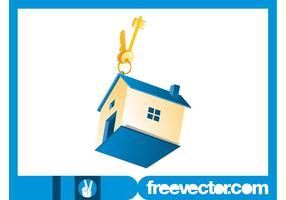 Hus och gyllene nycklar