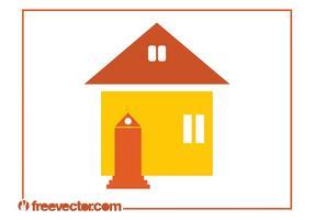 Gráficos de ícones da casa