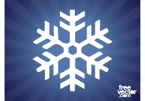 Sneeuwvlok Vector