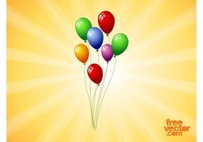 Schwimmende Ballons