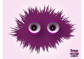 Netter Monster-Vektor
