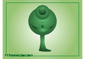 Tree Character Vector