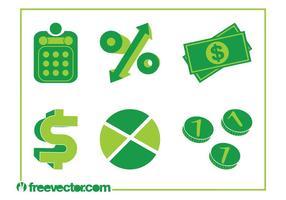 Ícones do dinheiro