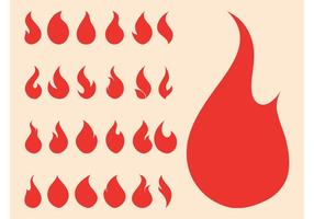 Fire Symbols Graphics