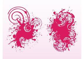 Splatter And Spirals