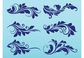 Plant-scrolls-graphics-vector