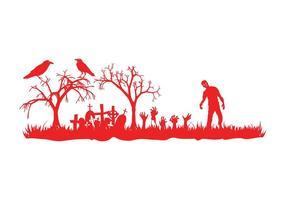Halloween Graveyard Graphics