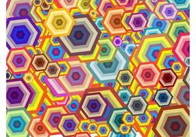 Hexagons Background