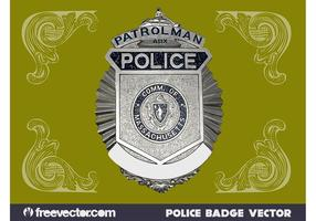Polis Badge Grafik