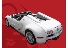 Vit Bugatti Veyron