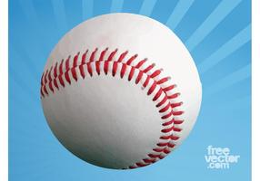 Baseball en blanc