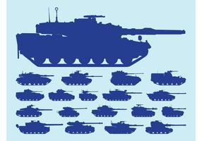 Tanks Silhouetten
