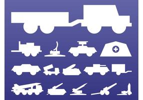 Militär-Grafik-Set