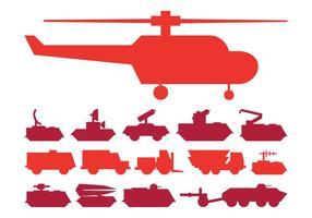 Militärfordon Sätta
