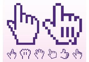 Pointer Hand Icons
