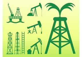 Ölpumpen Grafiken
