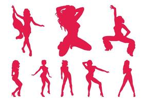Strippers Silhouettes