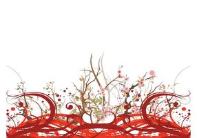 Cherry Blossom Layout