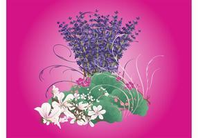 Diseño de las flores de la primavera