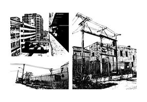 Grunge Urban Buildings