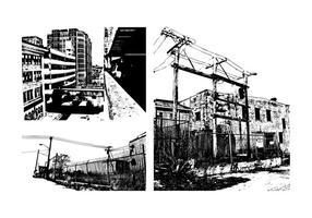 Grunge Urban Buildings