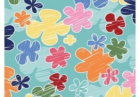 Cartoon Flowers Background
