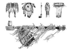 Nativos americanos Objetos