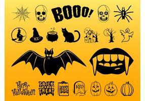 Ensemble d'images de Halloween