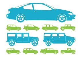 Car Silhouettes Graphics