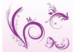 Flower Scrolls Designs