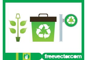 Plant And Recycling Graphics
