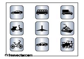 Vierkante Transportpictogrammen