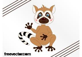 Cartoon Lemur