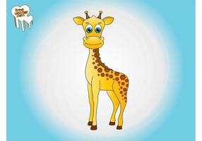 Cartoon giraf graphics