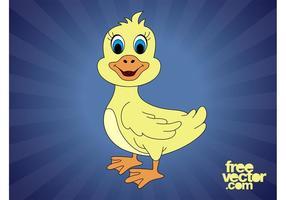 Canard à dessin animé